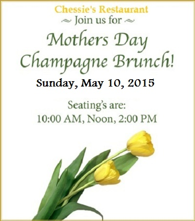 Chessies Mothers Day Brunch 2015