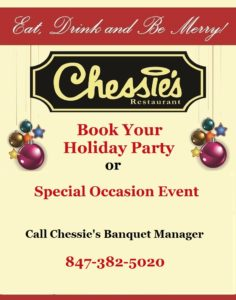 Book Your Holiday Party or Special Ocassion Event