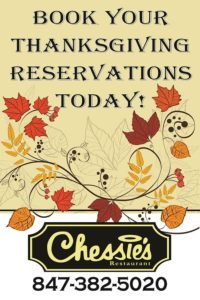 Chessies Book Thanksgiving