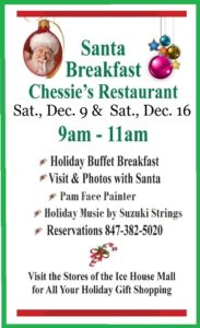 Chessie's Breakfast with Santa 2017