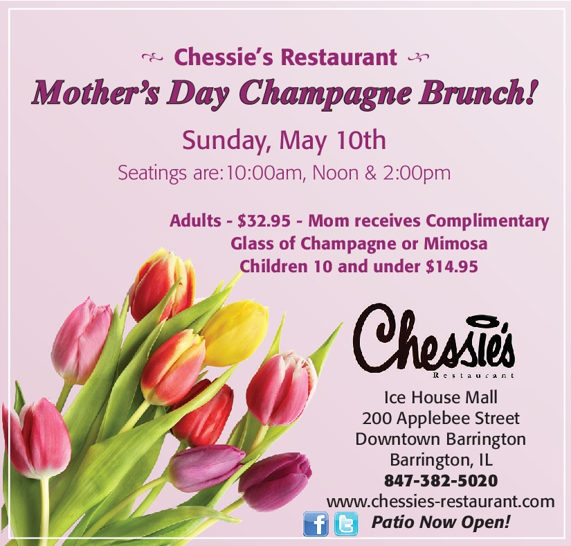 Mother's Day Brunch at Chessie's Retaurant