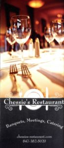 Chessies Banquet Brochure
